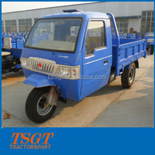 Cargo tricycle with cabin for cargo, passenger and transportation