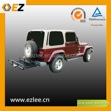 foldable trailer basket car luggage carrier