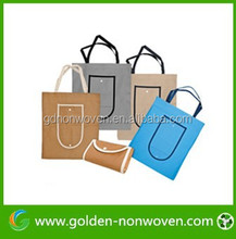 Single & Multi- color PP Nonwoven Shopping Bag, PP Nonwoven Reusable Bag of Good Quality