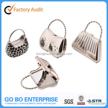New handbag shape protable metal compact mirror for gift