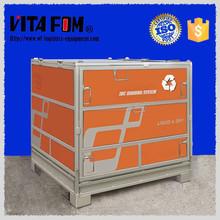 Industrial 1000L Stackable Foldable Steel Storage Chemical Storage Tank IBC Bin