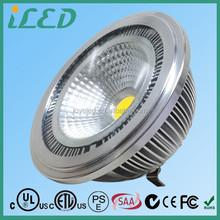 Taiwan Epistar LED AR111 Spot G53 Lamp Base 111mm Width Warm White 2700K LED 12V AR111 10W