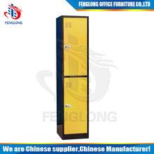 modern design 2 doors steel locker made in China