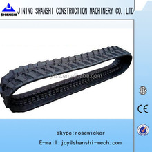 PC35 rubber track,excavator rubber crawler