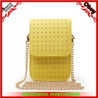 Alibaba supplier mini bags pretty girls long chain handbag