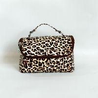 World Traveler Black Animal Print Cosmetic bag