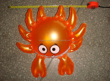 Hot sale PVC Inflatable Crab, Toy for advertising