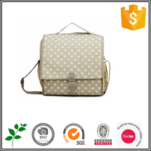 Dot printing travel wash lady bags promotional