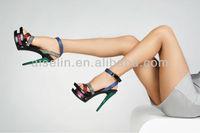 super high heel wedding branded designed diamond bridal sling back sandals shoes