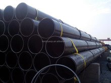 ASTM A192/ A192M seamless steel tube with black painting and beveled end