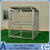 Big stainless steel dog cage outdoor dog kennel