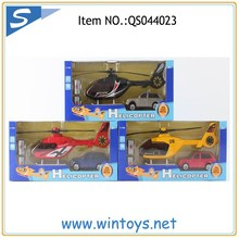 1:43 die casting airplane plastic free wheel with light and sound