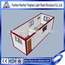 el diseño de la elevación de la exportación de contenedores de china forma prefab contenedores
