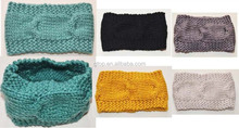Crochet Warm Head Wrap Knitted Woman Ladies Winter Headband Hair Band Loop