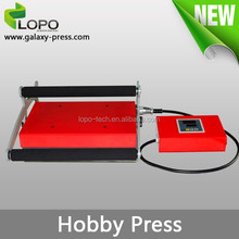 factory direct Galaxy Hobby Heat Press Machine for sublimation printing from Lopo