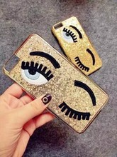 [Wholesale]Name brand phone case for iPhone 6 / 6 plus in bling eyes design #A1001 / Ship within 24--48hours