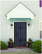 Hot selling steel security door price for wholesales