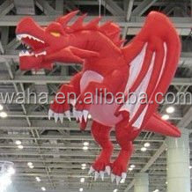 2015 giant inflatable red dragon