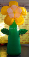 Giant flower inflatable yard decoration/outdoor inflatable flower decorations