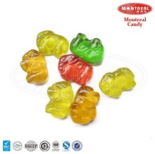 Oil Coated Animal Shape Gummy Candy