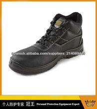 zapatos de seguridad de cuero de vaca/zapatos de seguridad industrial