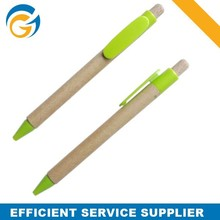 Promotional Green Recycled Paper Ball Pen