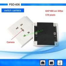 Digital Camcorder socket- 1640*480@30fps- Video recording/Photo Taking- Wall Socket Camera