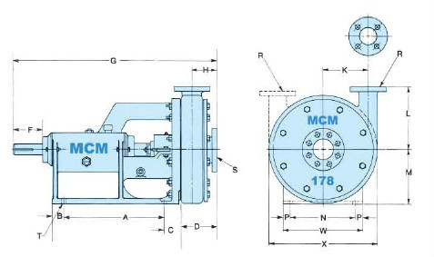 Top quality!API oilfield equipment drilling equipment MCM178,118 centrifugal pump As Per API Standard