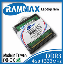 accessories for notebook ddr3 1333mhz pc3-10600 204pin so-dimm ddr3 4gb Ram