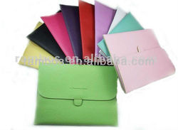 """Multi Color Envelope 10"""" PU Leather Macbook Sleeve for ipad 2 3 for Samsung 10.1"""