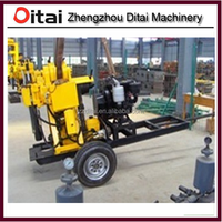 Supply drilling machine second hand, low water drilling machine prices,used borehole drilling machine for sale