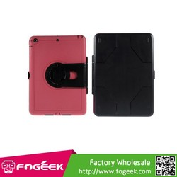 Brand New 360 Degree Rotary PC Hard Case w/ Transparent Screen Protector For iPad Air
