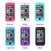 2015 best selling kickstand phone case for iPod touch 5 waterproof case