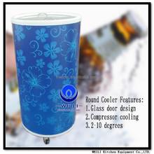 40L Round Barrel Beverage Cooler Can Shape Fridge Cooler with CE CB ROHS