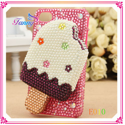 E010 Lovely Ice Cream Shaped Cheap Mobile Phone Case