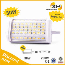 Alibaba Express China Smd 5630 5730 Dimmable r7s LED Lamp / 118mm r7s LED 30w