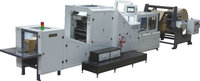 Machine for Making Paper Bread Bag with Plastic Window,Paper Bag Machine withPlastic Window