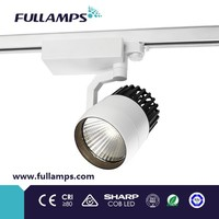 4 wire 3 circuit LED Track light 25W 33W with warm white, nature white, cold white optional