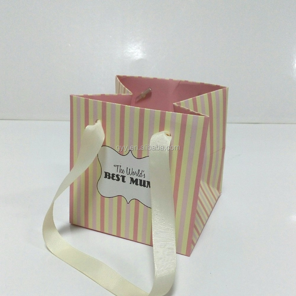 Wedding Gift Bags Printed : Wedding Gift Bag with Custom Logo Printed