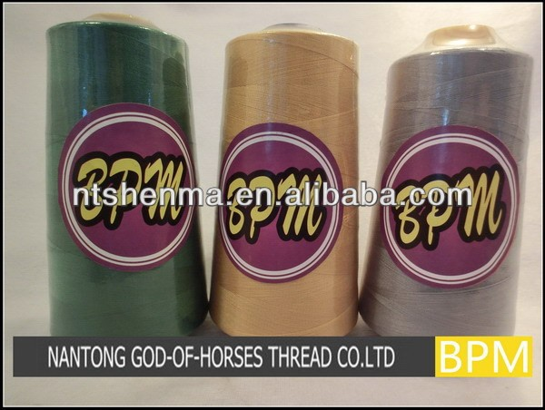 Best quality spun polyester sewing thread 40S/2