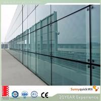 Sunnyquick AS2208 aluminum glass curtain wall