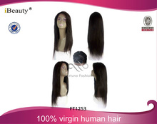 AAAAA front lace wigs for black women,beauty virgin brazilian hair lace wig,human hair wig