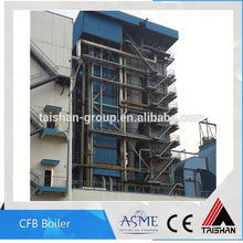 High Quality Wood Pellet and Rice Husk Fired Water Tube CFB Boiler