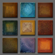 Excellent artwork modern decorative group oil painting AG-A058