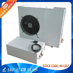 The air conditioning (heat pump) for cooling in the summer Split EVI heat pump heater