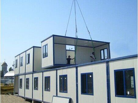 Maison de r cipient modulaire mobile prefab8 20ft 40ft pour la vente maisons pr fabriqu es id de - Huis in containers ...