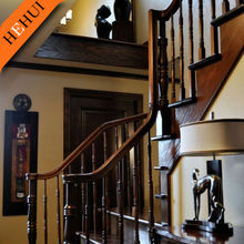 wrought iron for stair railing with handrail ZY-C017