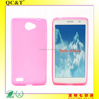 AAA quality factory price Soft TPU Inner Scrub Case for LG B ELLO 2