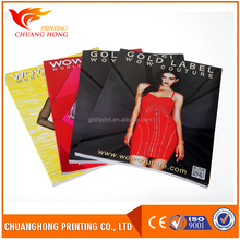 Trending hot products magazine printing,cheap magazine printing,glossy magazine printing products you can import from china
