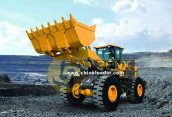 China made 5 ton front loader/ wheel loader with ZF Gear box, Top brand SDLG LG958L